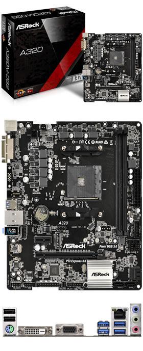 Scheda Madre / Mainboard PC Desktop assemblato Computer fisso